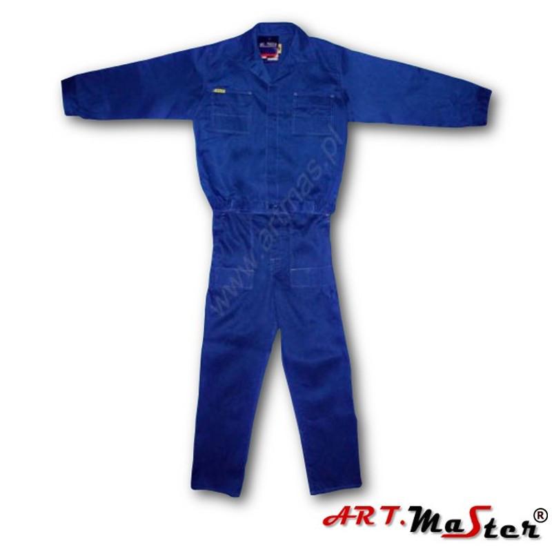 Профессиональная  рабочая одежда ARTMAS синего цвета ART.MASTER - niebieski