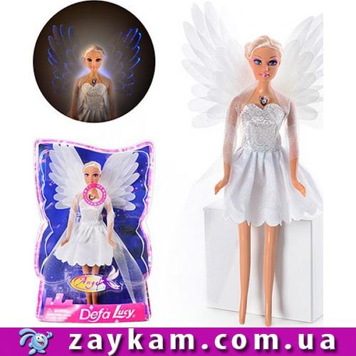 Лялька DEFA 8219 Ангел з крилами, крила світяться