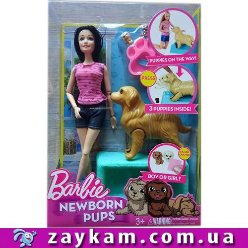"""Лялька """"Barbie"""" KQ060 Собачка народжує цуценят"""