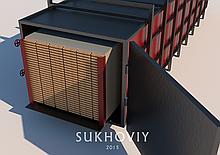 """Вакуумная сушильная камера для дерева """"Sukhoviy Vac 5"""""""