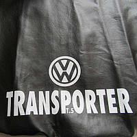 Чехол на капот, VW TRANSPORTER, материал эко кожа 2000-2006 год