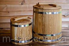 Кадка дубовая конусная для соления Seven Seasons™, 60 литров, фото 3