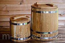 Кадка конусная дубовая для засолки Seven Seasons™, 120 литров, фото 3