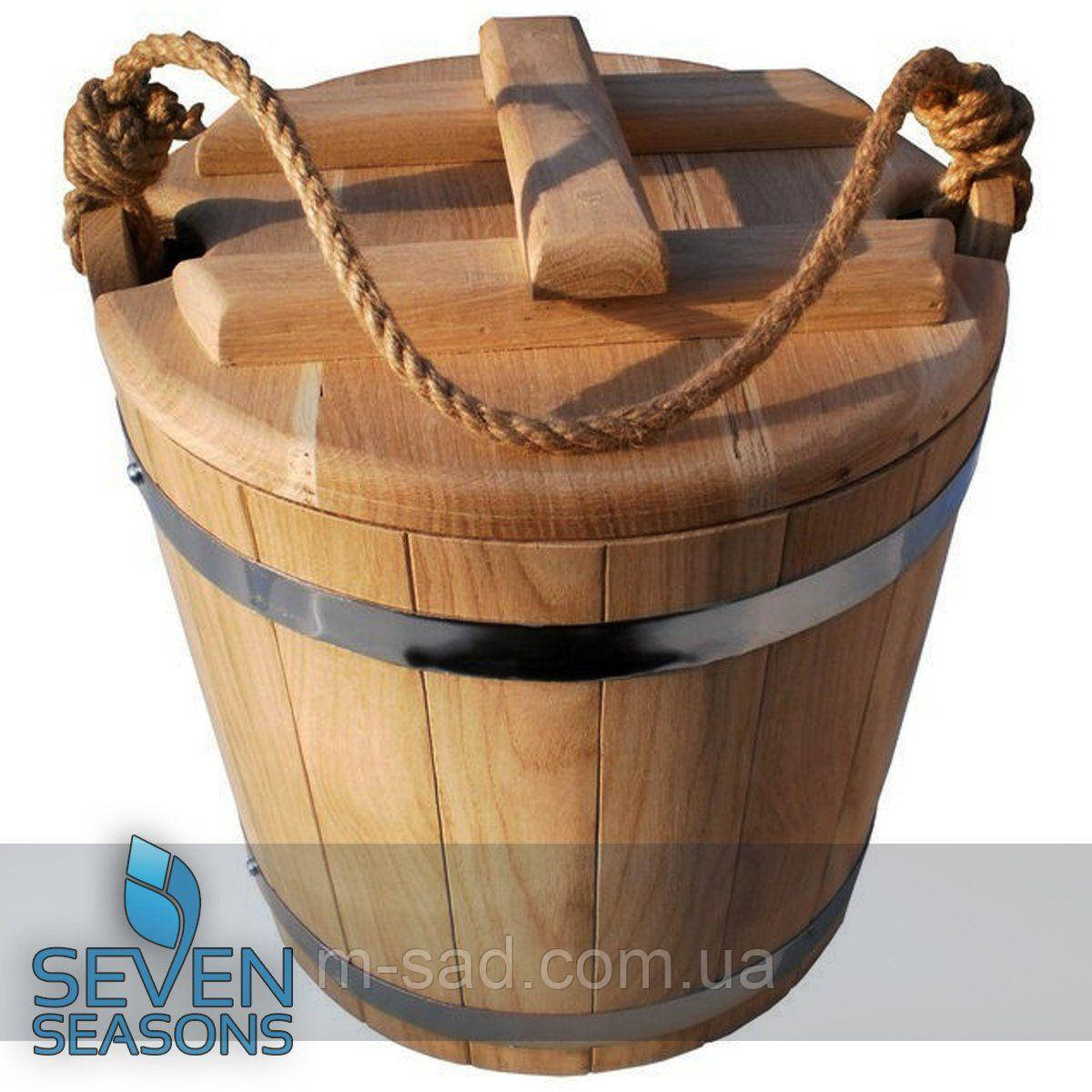 Ведро дубовое для солений Seven Seasons™, 10 литров