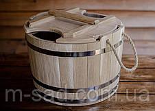 Запарник для веников дубовый Seven Seasons™, 25 литров, фото 2