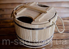 Запарник для веников дубовый Seven Seasons™, 25 литров, фото 3