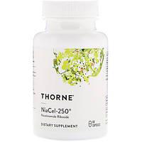 Niacel-250 НикотинамидРибозид 250 мг 60 капс защита от клеточного старения Thorne Research USA