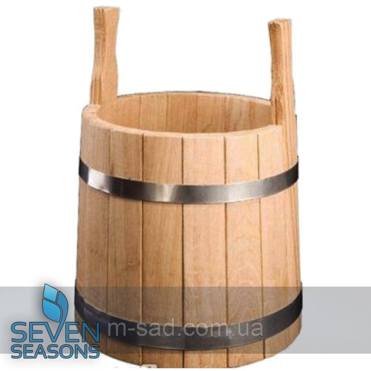 Ушат для бани Seven Seasons™, 12 литров