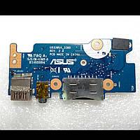 Дополнительная плата для ноутбука ASUS UX330UA IO BOARD (usb, audio, cardreader)