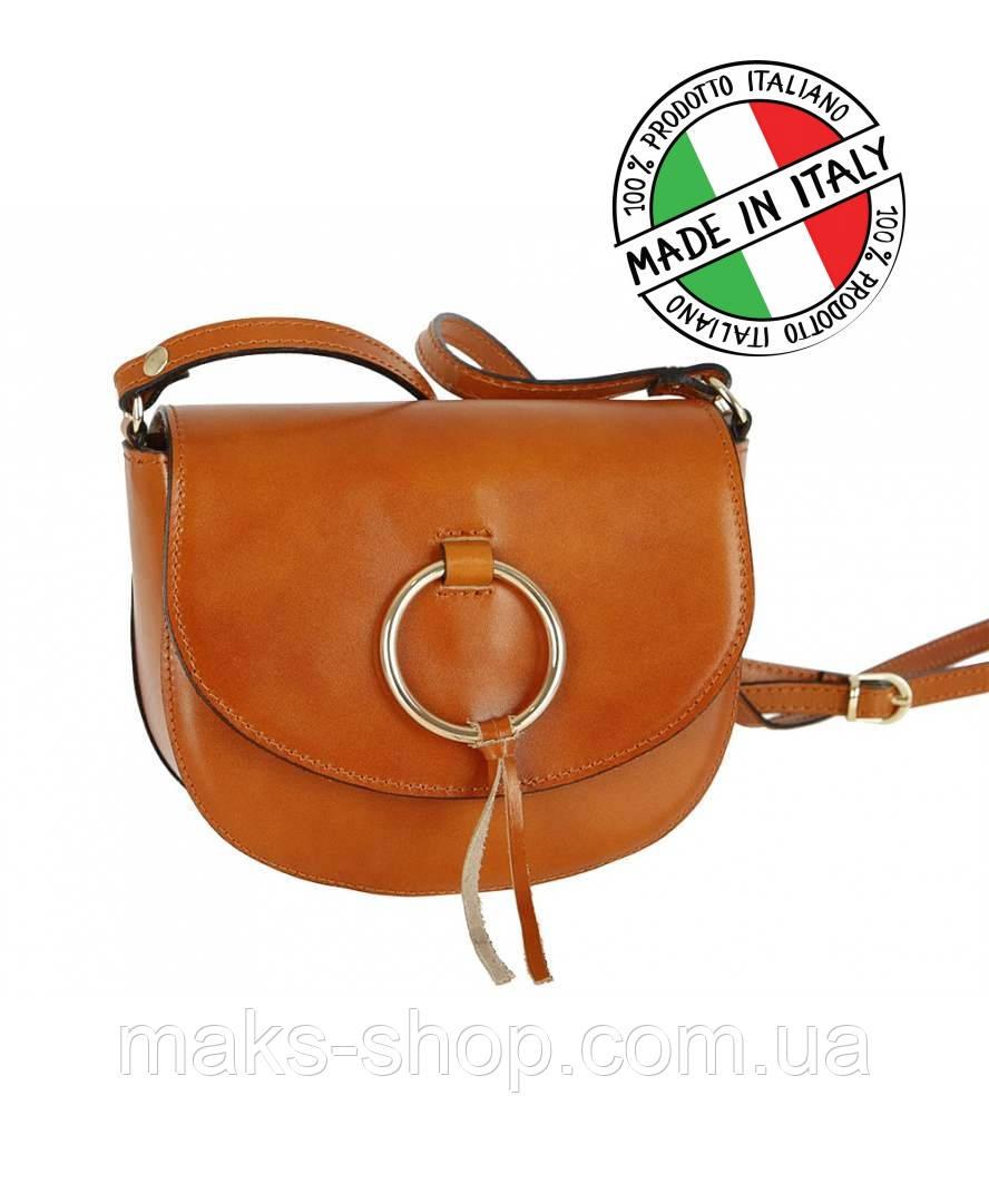 7f837ea6198d Женская сумка из натуральной кожи Италия коричневый - Maks Shop- надежный и  перспективный интернет магазин