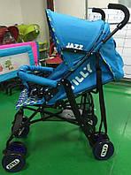 Детская Коляска-трость TILLY Jazz BT-SB-0008 BLUE***