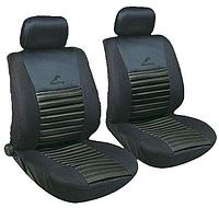 Авточехлы с подогревом Milex Arctic на передние сидения черные