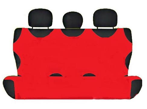 Чехол-майка Elegant на заднее сидение красная EL 105 243  новый дизайн