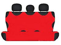 Чехол-майка Elegant на заднее сидение красная EL 105 243  новый дизайн, фото 1