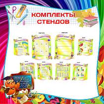Комплекты стендов для начальной школы