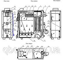 Котел на твердом топливе Проскуров Термо АОТВ-22 кВт, фото 3