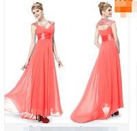 Вечернее  платье в пол, Кораловое., фото 1