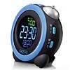 Электронный будильник GOTIE GBE-300R (синий), фото 3