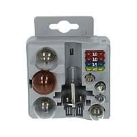 Набор лампочек BOSCH Maxibox H1 ( C5W / P21 / 5W / P21W / PY21W / R5W / T4W ) + предохранители (20A; 15A; 10A)