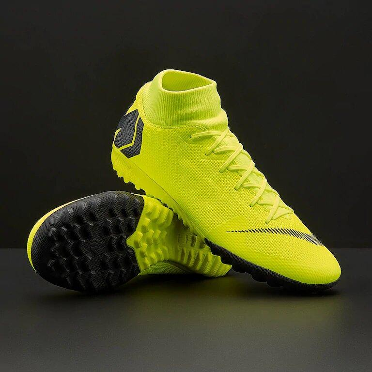 Сороконожки Nike MercurialX SuperflyX 6 Academy TF AH7370-701 (Оригинал)