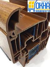 Ламинированные окна в массе /1800х1400/, фото 2