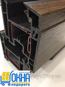 Ламинированные окна в массе /1800х1400/