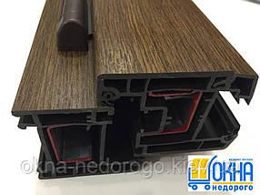 Ламинированные окна в массе /1800х1400/, фото 3