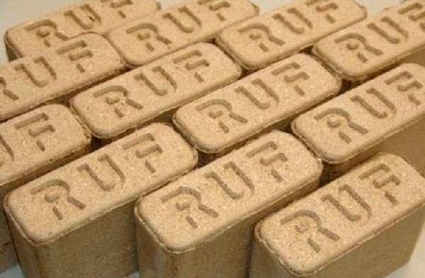 Топливные брикеты RUF (РУФ) сосна 100% (10кг)