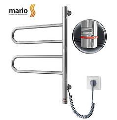 Полотенцесушитель электрический MARIO Тристар HP-I 600x445 поворотный