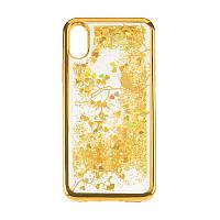 Чехол Beckberg Aqua Series for iPhone 5 Bird Gold