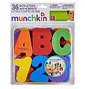 Игрушечный набор для ванны Munchkin MU-01890 Буквы и цифры, фото 2