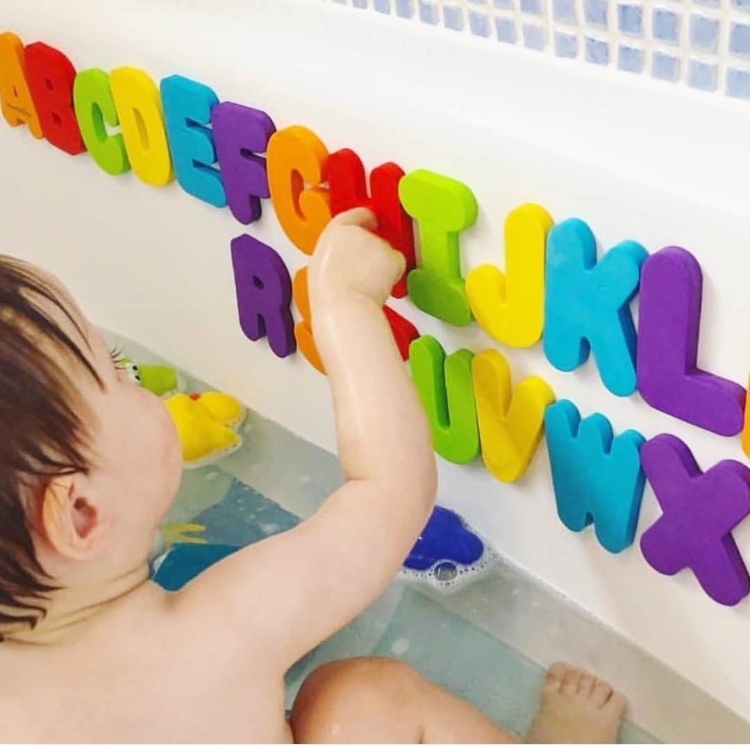Игрушечный набор для ванны Munchkin MU-01890 Буквы и цифры