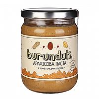 """Арахисовая паста с кусочками арахиса """"Бурундук"""""""