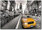 """Картина на холсте YS-Art XP139 """"Желтые такси 7, Таймс-сквер, Нью-Йорк"""" 50x70           , фото 2"""