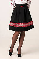 Стильная женская юбка с орнаментом