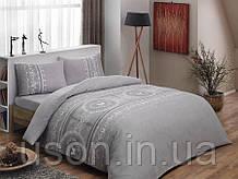 Комплект постельного белья из фланели полуторный размер ТМ Tac SONYA