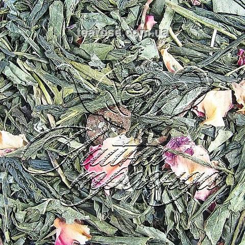 Зелений ароматизований чай «Чебрець-Полуниця»