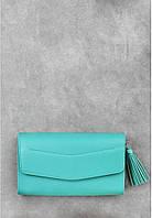 """Дизайнерская сумка клатч кожаная Элис"""" Тиффани"""
