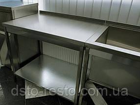 Стол производственный с полкой 1800/600/850 мм, фото 3