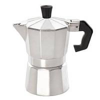 Кофеварка гейзерная, алюминиевая на 6 чашечки-300млл