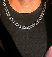 Мужская цепь из серебра Beauty Bar 61 см панцирное плетение 172 грамм