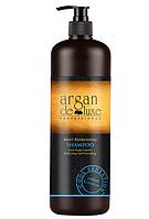 Шампунь с охлаждающим эффектом Argan De Luxe Professional Mint Refreshing Shampoo, 1000 ml