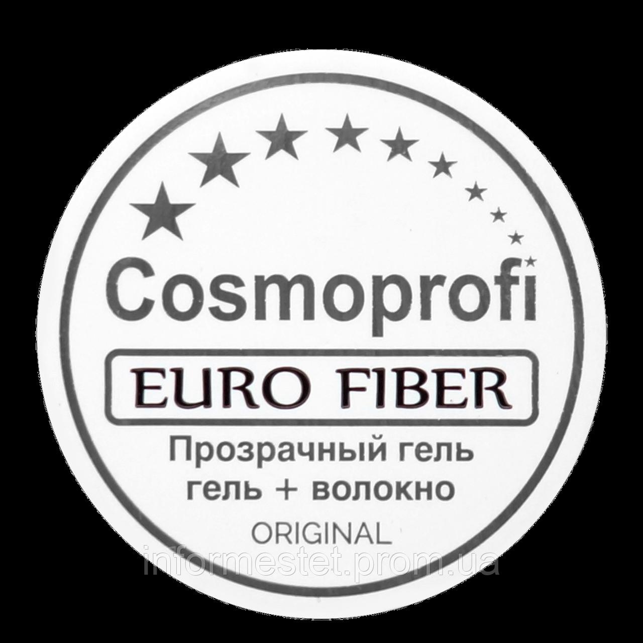 """Гель со стекловолокном """"Euro Fiber"""""""