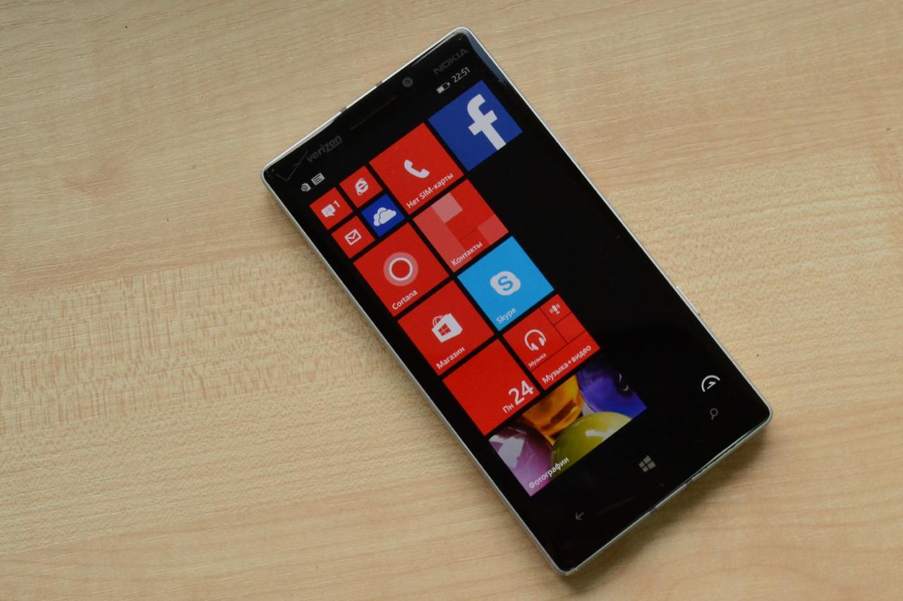 Смартфон Nokia Lumia 930 (929) White 20MP, 32Gb Оригинал!