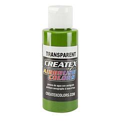 AB Transparent Tropical Green (прозрачная тропическая зеленая краска), 60 мл