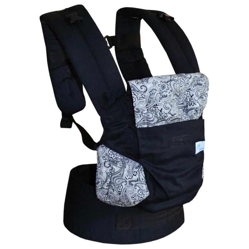 Эргономичный рюкзак Світ навколо (хлопок/ черный с серым)