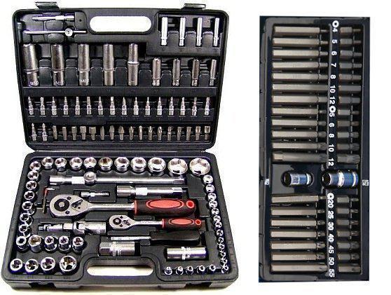 Набор ключей 108 шт + набор TORX, HEX бит 40 шт