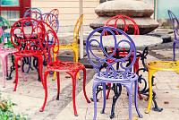 Полимерная покраска металлической мебели