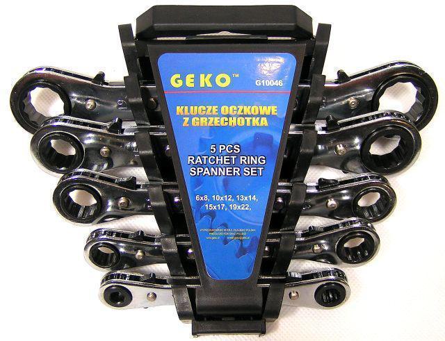 Набор ключей GEKO 5 шт.