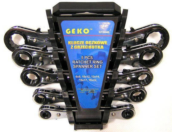 Набор ключей GEKO 5 шт., фото 2